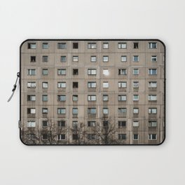 Plattenbau - gdr architecture building facade Laptop Sleeve
