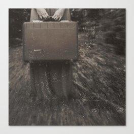 she travels Canvas Print