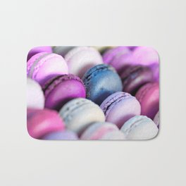 Lavender Purple Macaroons Bath Mat