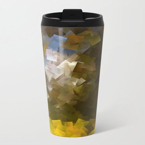 Abstract IV Metal Travel Mug