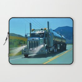 On the Highway Home Laptop Sleeve
