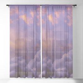 Memories of Thunder Sheer Curtain