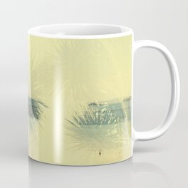 Double exposure Porthminster Beach, Cornwall Coffee Mug