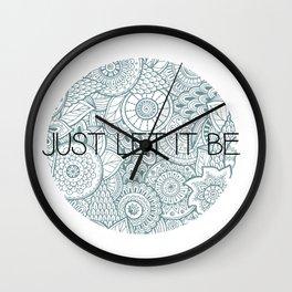 LetItBe. Wall Clock