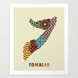 Somalia Art Print
