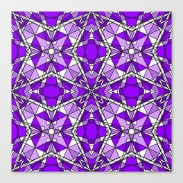 Purple Amethyst Canvas Print