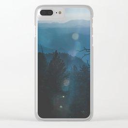 Yosemite, Blue Clear iPhone Case
