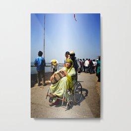 Mumbai Crowds - Haji Ali Mosque - 17 Metal Print