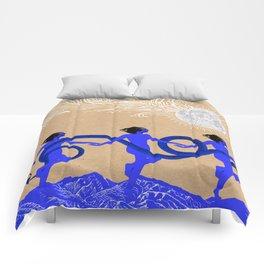 snake charmers Comforters
