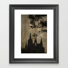 Mysterious Prague Framed Art Print