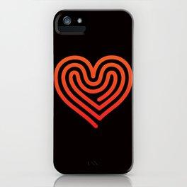 Hot Heart iPhone Case