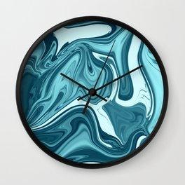 ABSTRACT LIQUIDS XXX Wall Clock