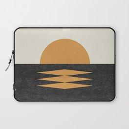 Sunset Geometric Midcentury style Laptop Sleeve