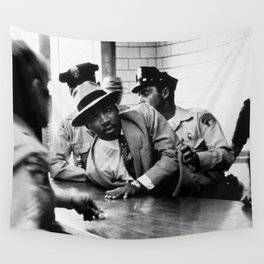 Remembering African American History & Martin Luther King Racial Injustice photograph - photography Wall Tapestry