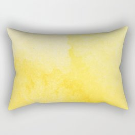 Sunshine Watercolor Rectangular Pillow
