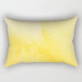 Sunshine Watercolor Rectangular Pillow