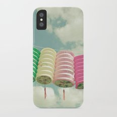 Chinese Lanterns iPhone X Slim Case