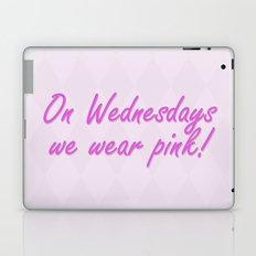 On Wednesdays We Wear Pink Laptop & iPad Skin