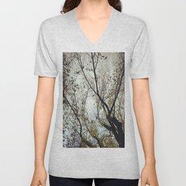 Tree of Birds Unisex V-Neck