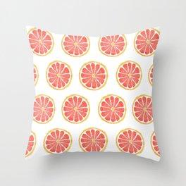 Grapefruit Throw Pillow