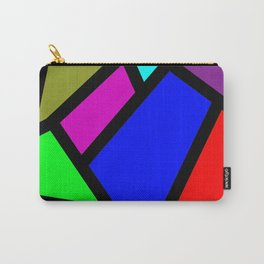 Suit modern abstract Carry-All Pouch