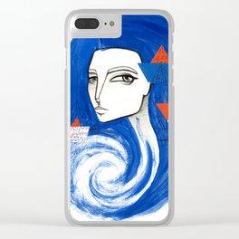 Sou Mar Clear iPhone Case