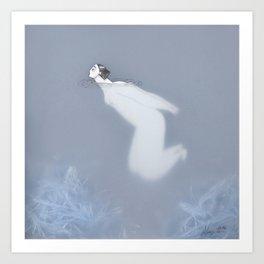 Dona d'aigua V Art Print