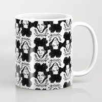 basquiat Mugs featuring Basquiat by CLSNYC