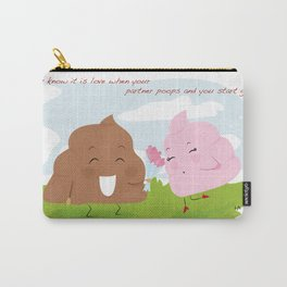 poops' love Carry-All Pouch