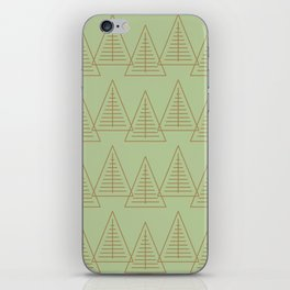 Winter Hoidays Pattern #10 iPhone Skin