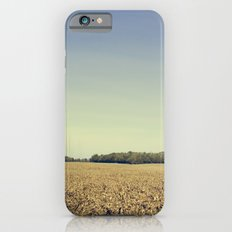 Lonely Field in Blue iPhone 6s Slim Case