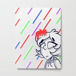 Its Rainin Rainbows  Metal Print
