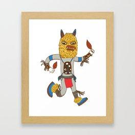 Kachina Fox Framed Art Print
