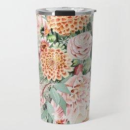 Fall Dahlia Bouquet Travel Mug