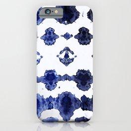Habotai Shibori Ikat iPhone Case