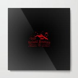 sky land mountain Metal Print