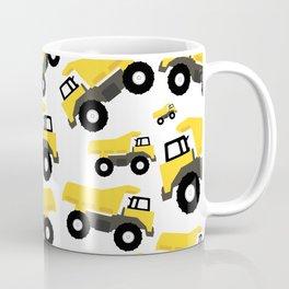 Dump Truck Constructions Trucks Pattern Coffee Mug