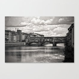 The Ponte Vecchio in Florence Canvas Print
