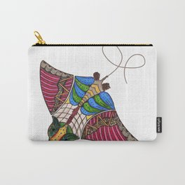 Colorful Stingray Carry-All Pouch