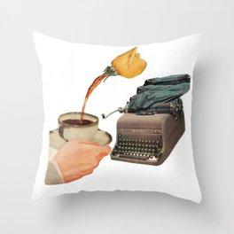 Bibliograph Throw Pillow