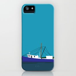 Trawler Boat iPhone Case