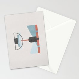 Pendulum minimal abstraction Stationery Cards
