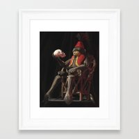 hamlet Framed Art Prints featuring Hamlet by SphinxArt