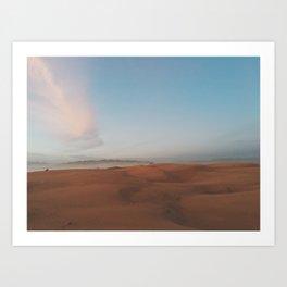 OCEANO DUNES Art Print