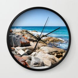 Bay of Fires Wall Clock