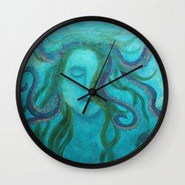 Mistress of the Sea Wall Clock