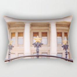 Stars over Texas x Texas State Capitol Rectangular Pillow