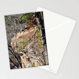Climbing Up Sparrowhawk Mountain above the Illinois River, No. 4 of 8 Stationery Cards