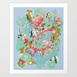Alien Organism 9 Art Print