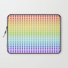 Rainbow Lines Laptop Sleeve